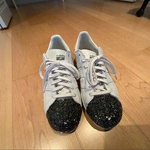ADIDAS sparkle toed casual sneaker 8